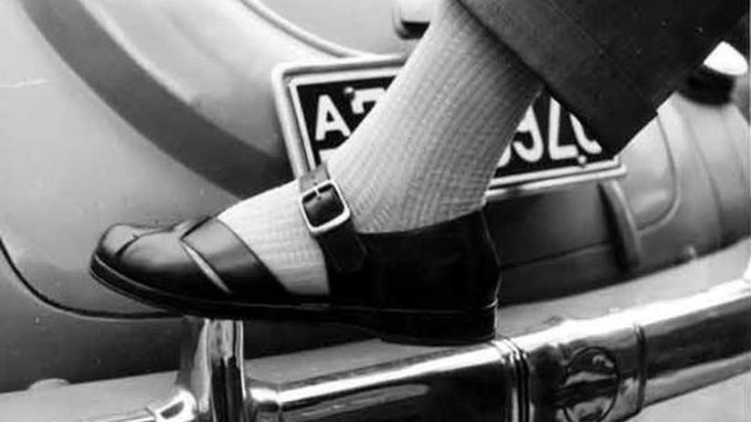 Perlon-Socke