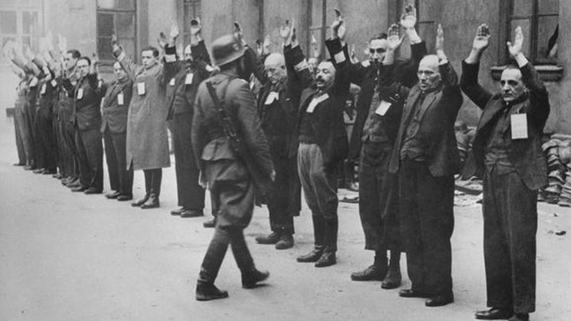 Wahrschauer Ghetto Nazis SS Widerstand