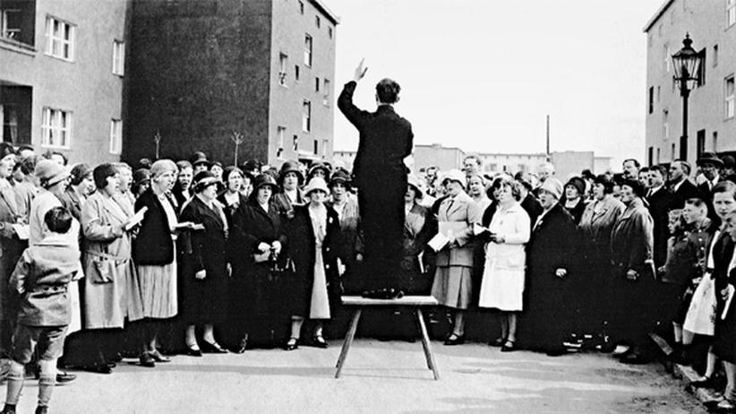 Baugenossenschaften: Gemeinsam wohnen, gemeinsam singen: Der Chor der Genossenschaft Freie Scholle in Berlin um 1930
