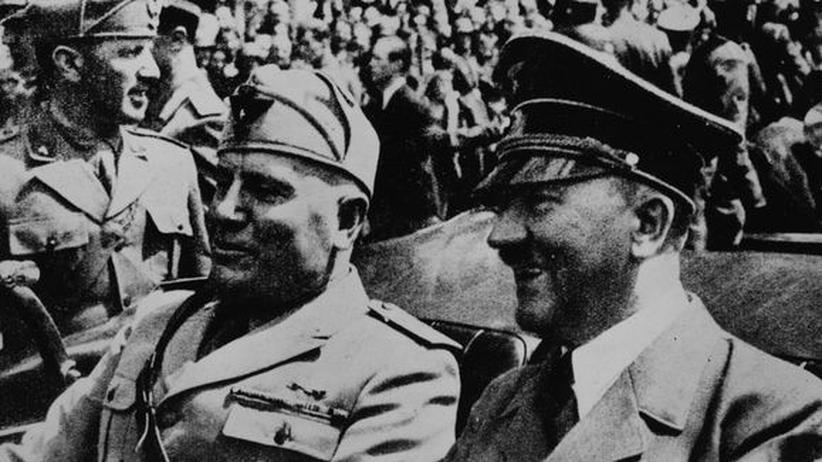 Hitler Mussolini Faschismus Diktator Nationalsozialismus