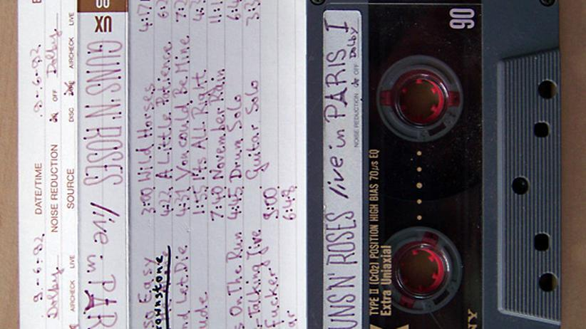Audikassette Kassette Gun's Roses