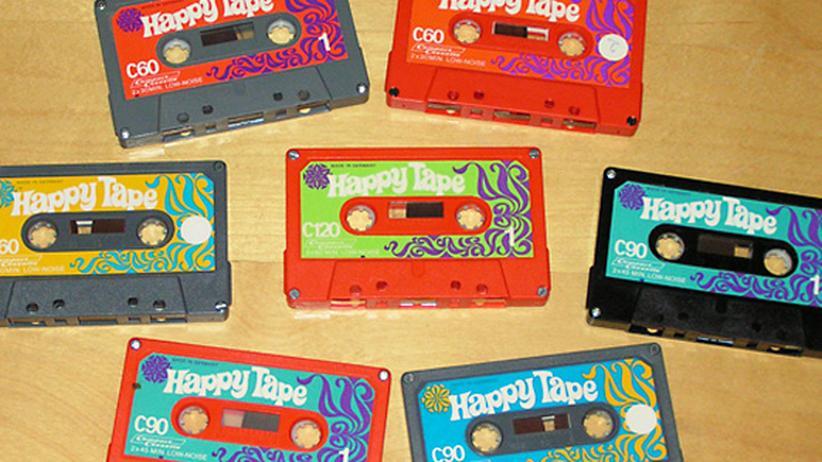 Audiokassette Kassette Cover Mixtape