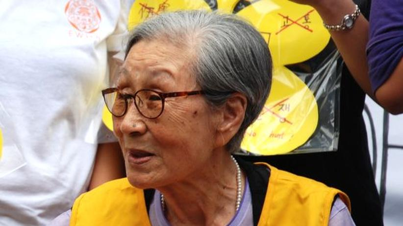 Trostfrauen Korea Japan Demonstration Zweiter Weltkrieg Missbrauch Zwangsprostitution