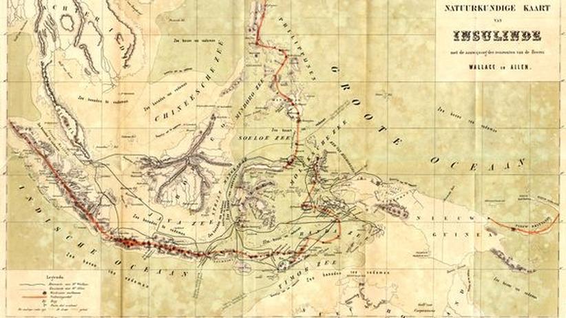 Karte des Malaiischen Archipels