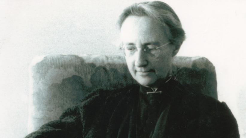 NS-Widerstand: Verzweifelt forderte Elisabeth Schmitz die Kirche auf, zu handeln (Porträtfoto um 1945)