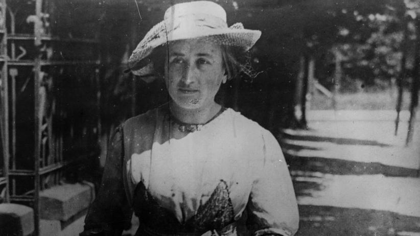 Erster Weltkrieg: Rosa Luxemburg, politische Aktivistin