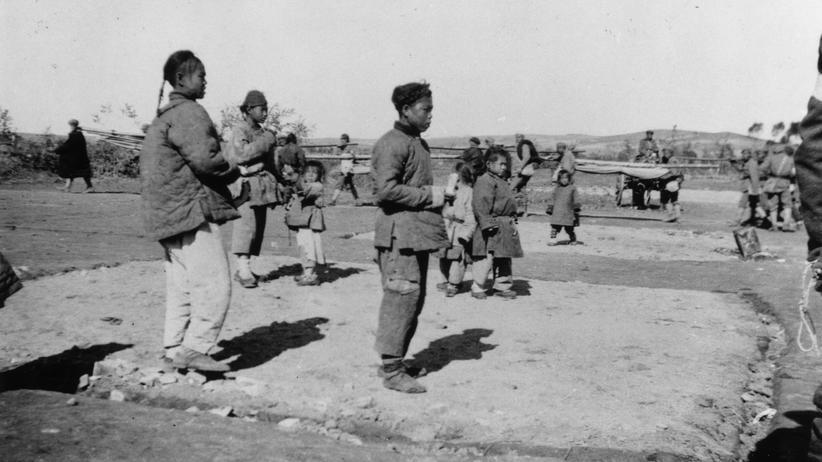 1914: chinesische Arbeiter im Ersten Weltkrieg