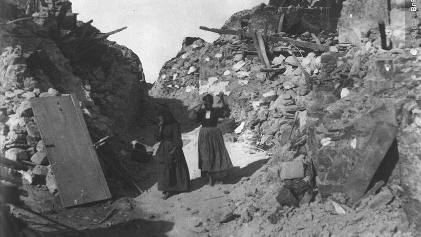 1914 Tag für Tag: Sizilien bebt wie ein sturmbewegtes Meer
