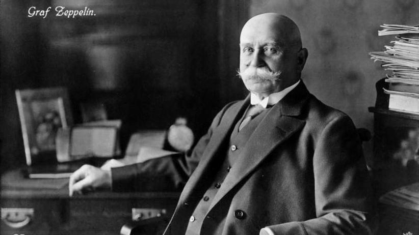 Erster Weltkrieg: Graf Zeppelin brennt für seine Wunderwaffe
