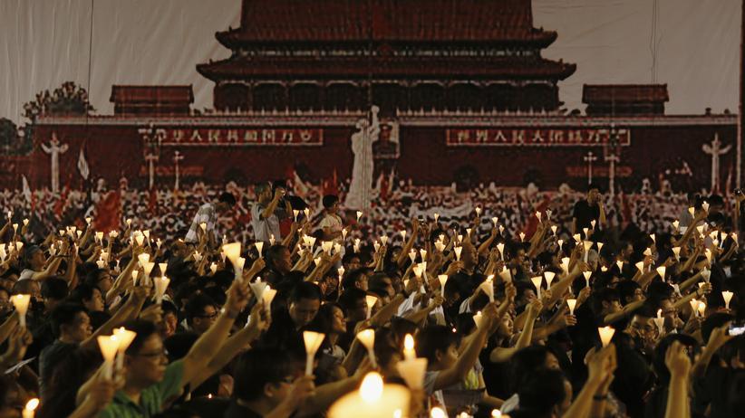 TIananmen-Massaker: In Hongkong wollen sie Tiannamen nicht vergessen