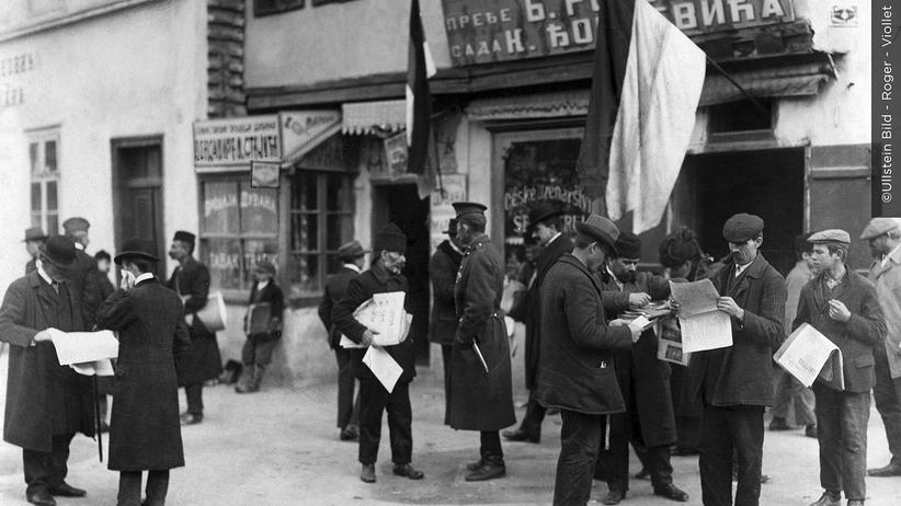 1914 Tag für Tag: Belgrad im Bombenhagel