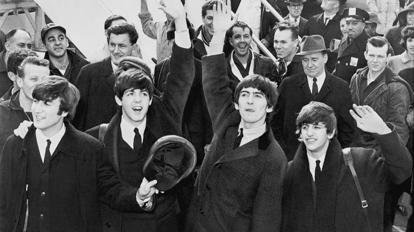 Beatlemania: Fans auf der ganzen Welt fielen in Ohnmacht