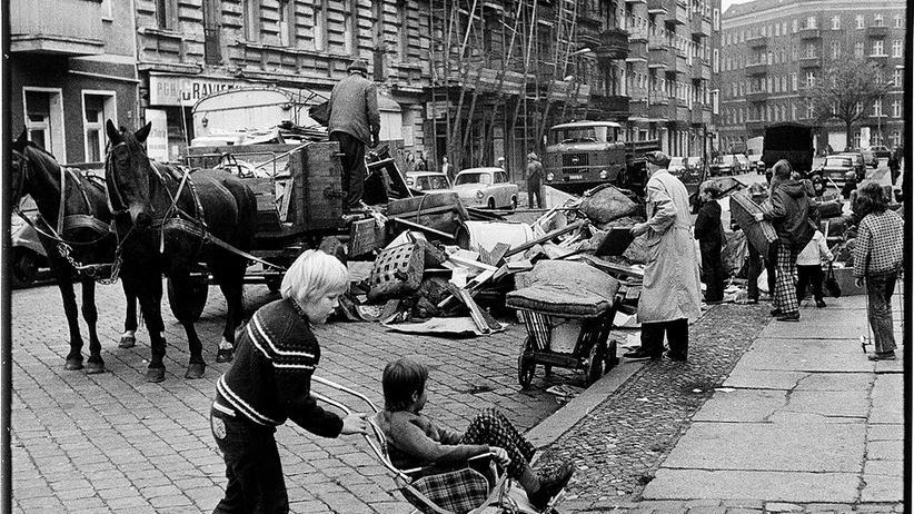 DDR-Alltag: Dann muss halt der Pferdekarren reichen