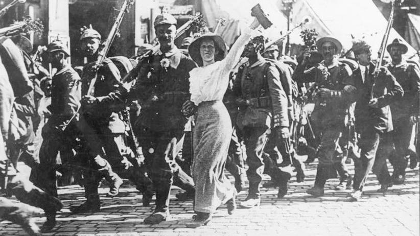 Erster Weltkrieg: Das Volk schwankte zwischen Ekstase und Kriegsangst