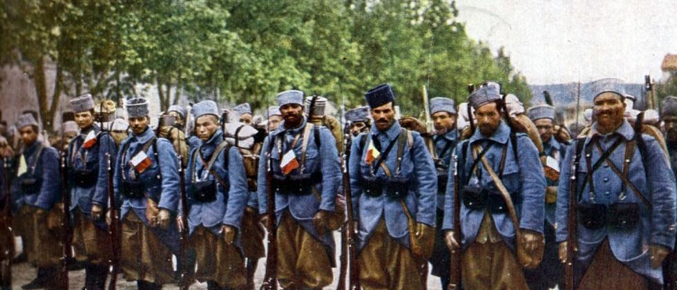 Erster Weltkrieg: Anderes Land, anderer Krieg