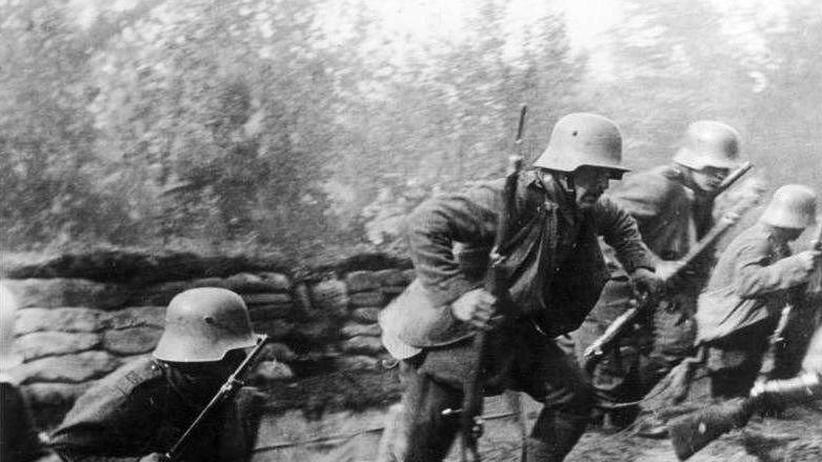 Erster Weltkrieg: Bewaffnet mit Gewehr und Kamera