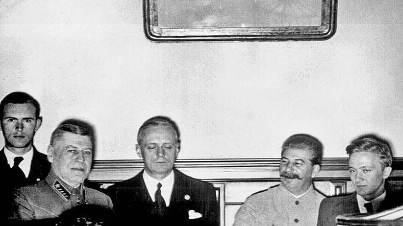 Zweiter Weltkrieg: Russlands andere Sicht auf den Hitler-Stalin-Pakt