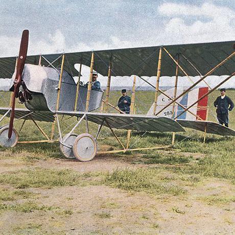 Autochrom-Fotografie: Erster Weltkrieg, live und in Farbe