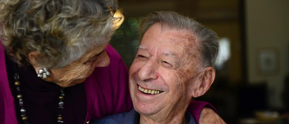 Zwi Steinitz und seine Frau Regina