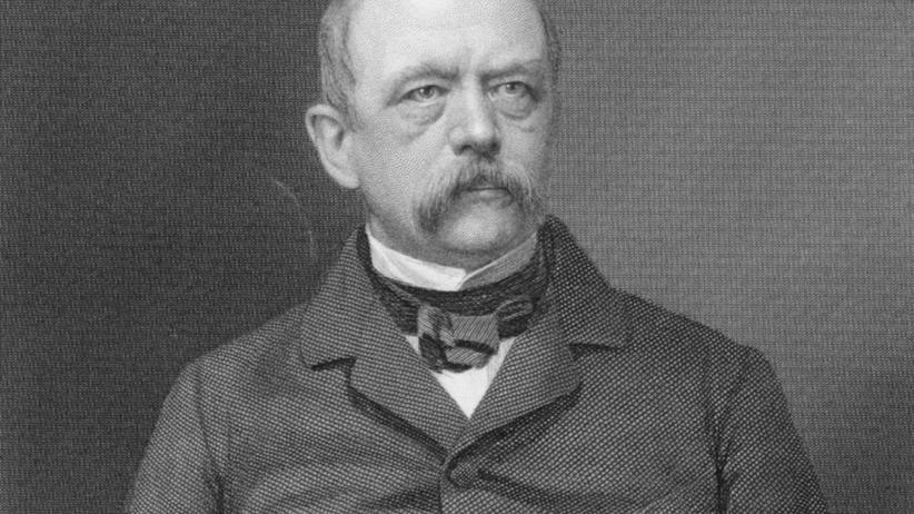 Politiker Otto von Bismarck um 1870