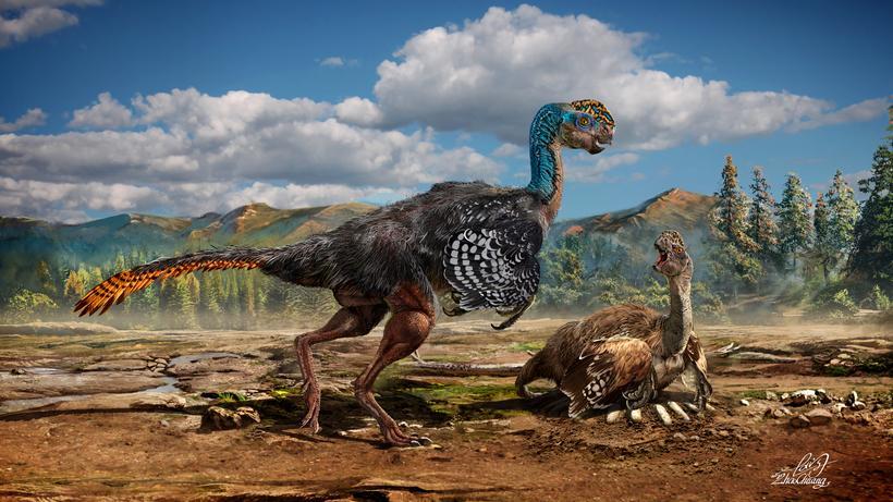 Dinosaurier Der Huanansaurus Ist Ein Bizarrer Ur Viech Mix Zeit