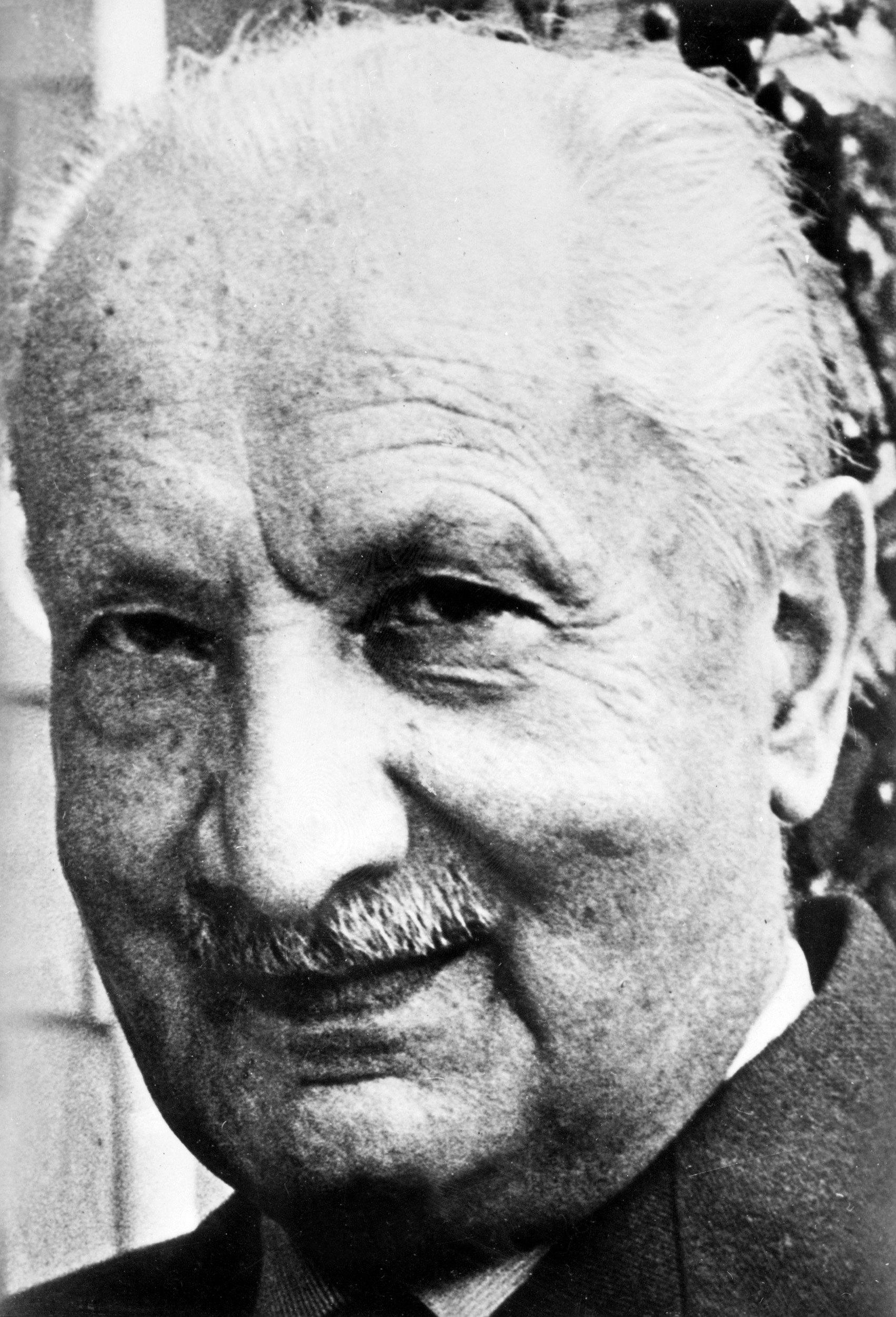 Philosoph Martin Heidegger