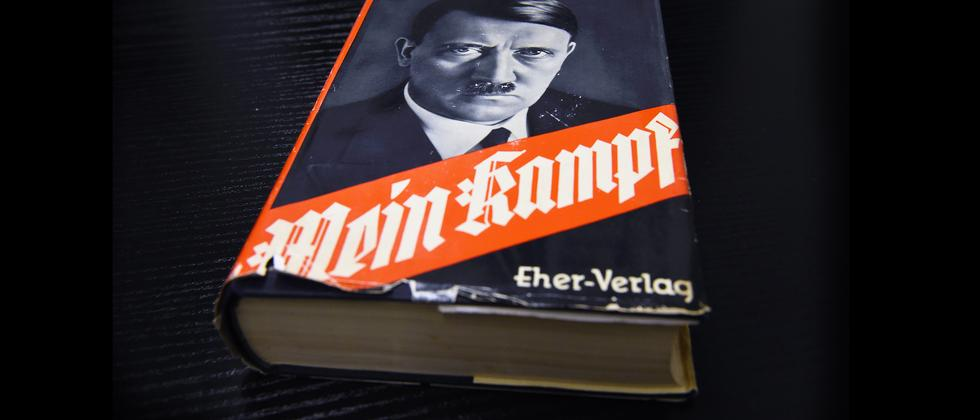 "Adolf Hitler, ""Mein Kampf"""