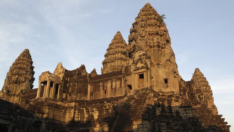 Rund um die Tempel von Angkor Wat befanden sich riesige Siedlungen.