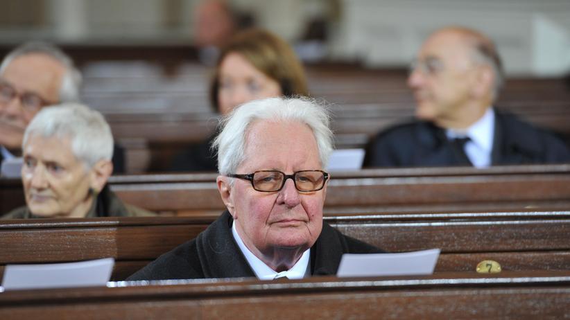 Hans Jochen Vogel Helmut Schmidt Altkanzler SPD