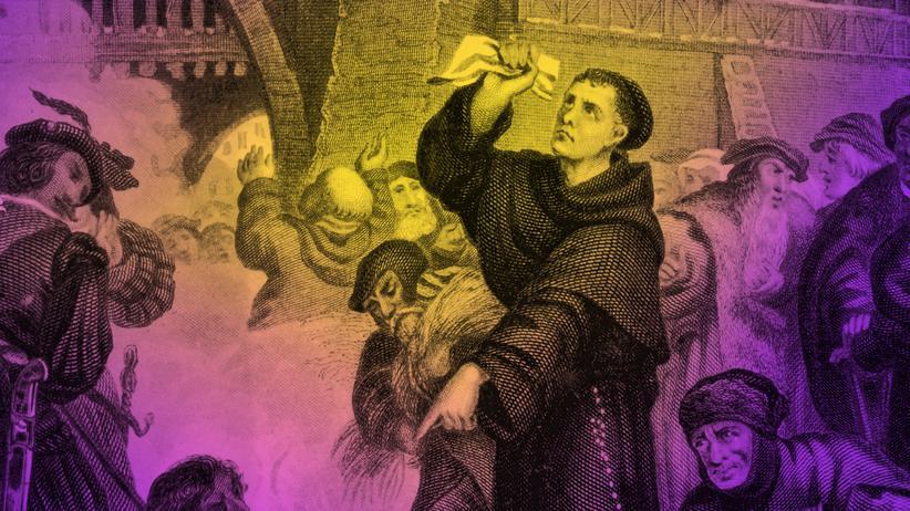 """Reformation: Wer nicht """"Luther"""" schrie, rief """"Tod der römischen Kurie"""""""