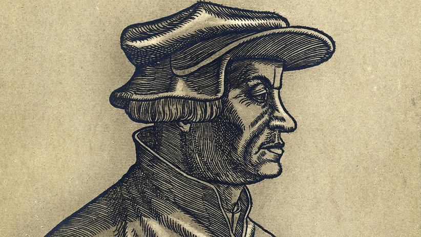 Huldrych Zwingli: Abbildung des Schweizer Theologen und Reformators Huldrych Zwingli, ca. 1515
