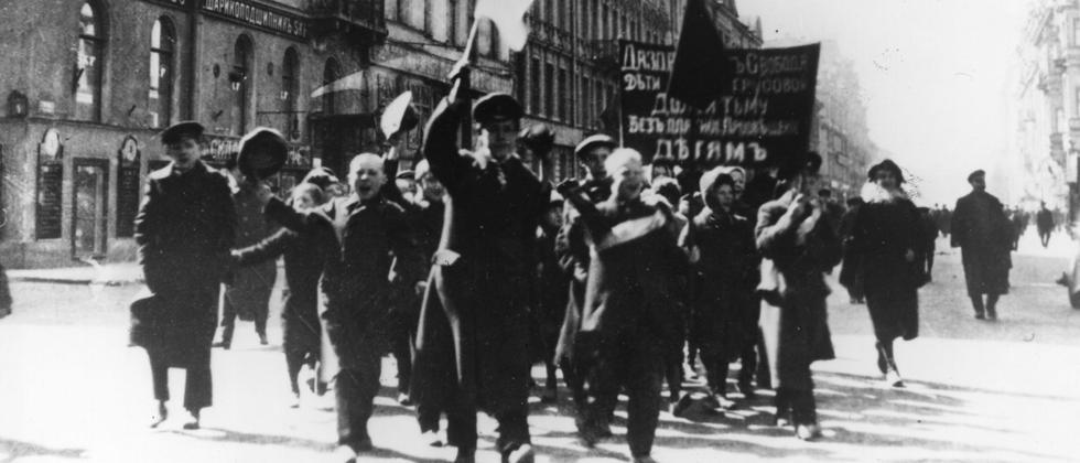 1917 Revolution Russland Geschichte