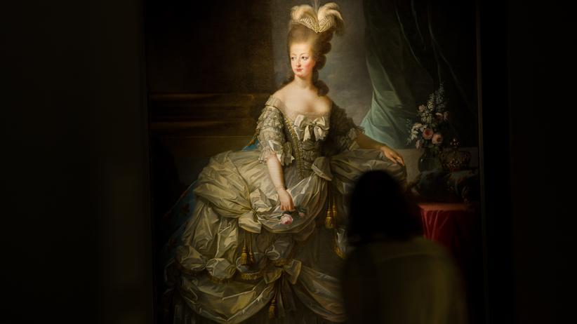 Marie Antoinette: Ein Ölgemälde der französischen Königin Marie Antoinette im Beaux-Arts Museum, Arras