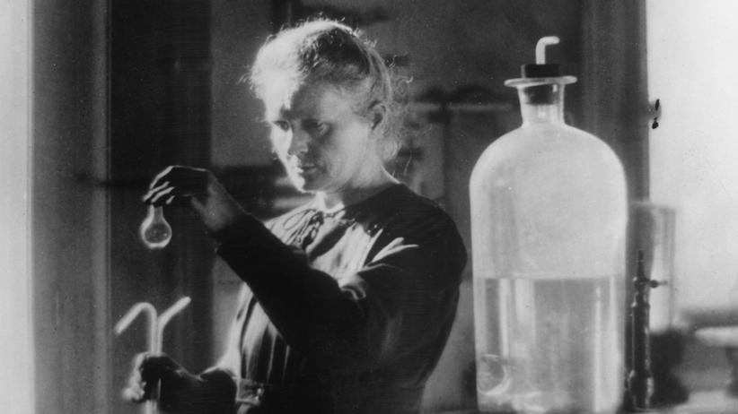 Marie Curie Nobelpreis Physik Chemie Radioaktivität