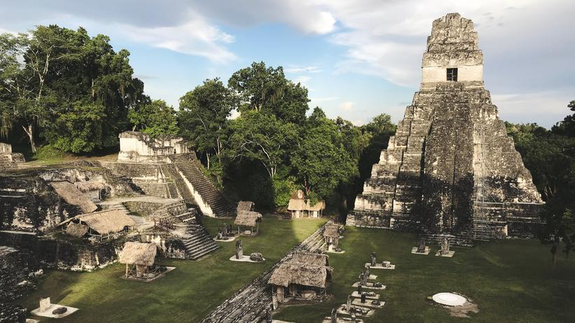 Guatemala: Tikal, eine antike Maya-Stadt im nördlichen Guatemala.