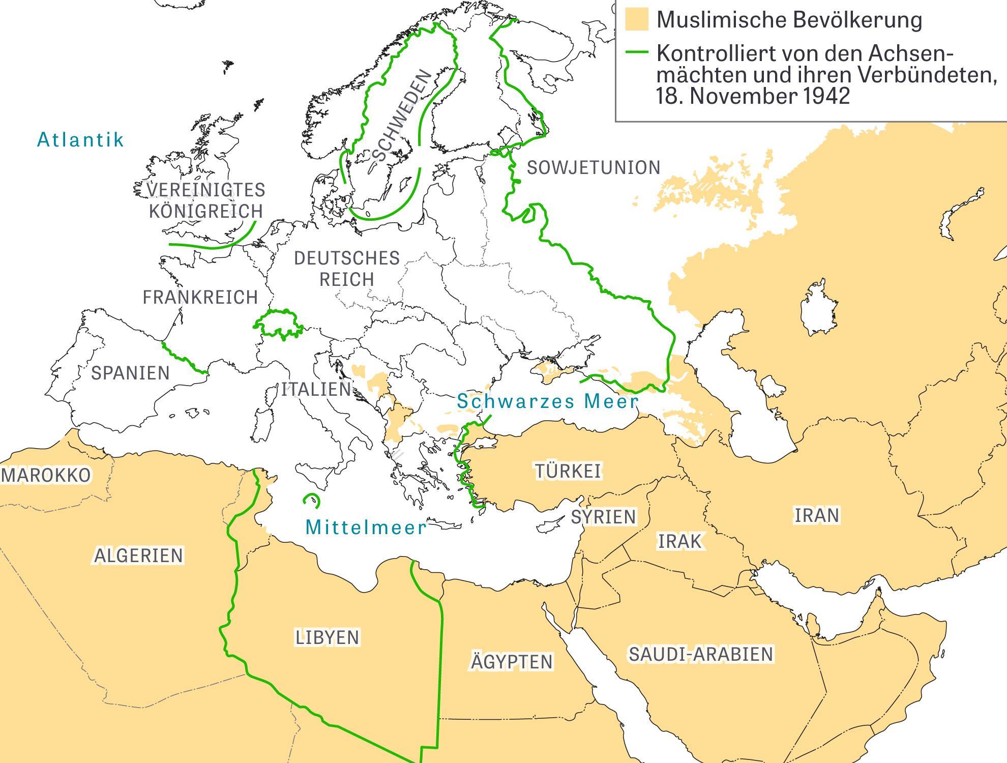 Deutsches Reich Karte 1943.Muslime Im Zweiten Weltkrieg Deutschland Wird Den Krieg
