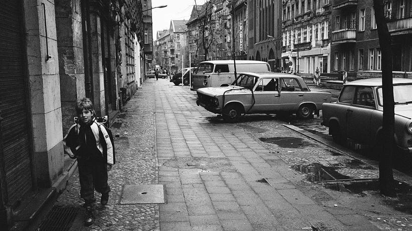 Prenzlauer Berg: Blick in den Prenzlauer Berg, Anfang der 1990er Jahre: Noch nicht so hip