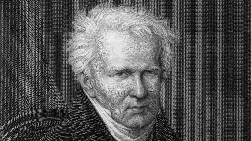 Alexander von Humboldt etwa im Jahr 1950