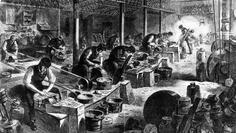 Industrialisierung: Für einen Taler die Woche