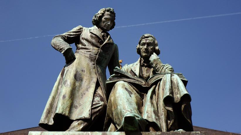 Brüder Grimm: Das Märchen von der guten alten Zeit