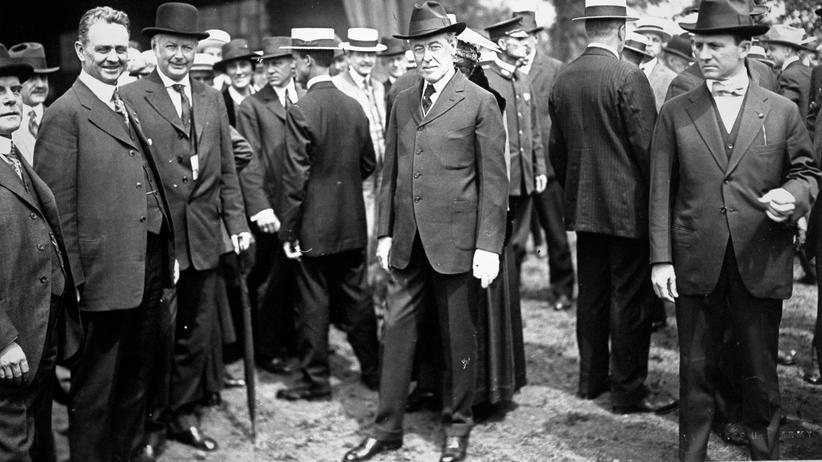 Vor 100 Jahren: Wilsons Traum vom Frieden