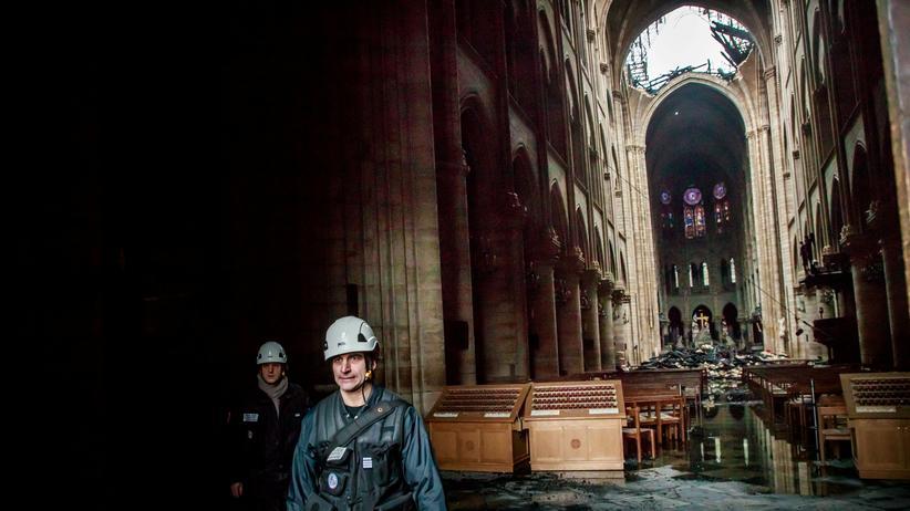 """Notre-Dame: """"Wir können von Glück reden, dass die Gesamtstruktur noch steht"""""""