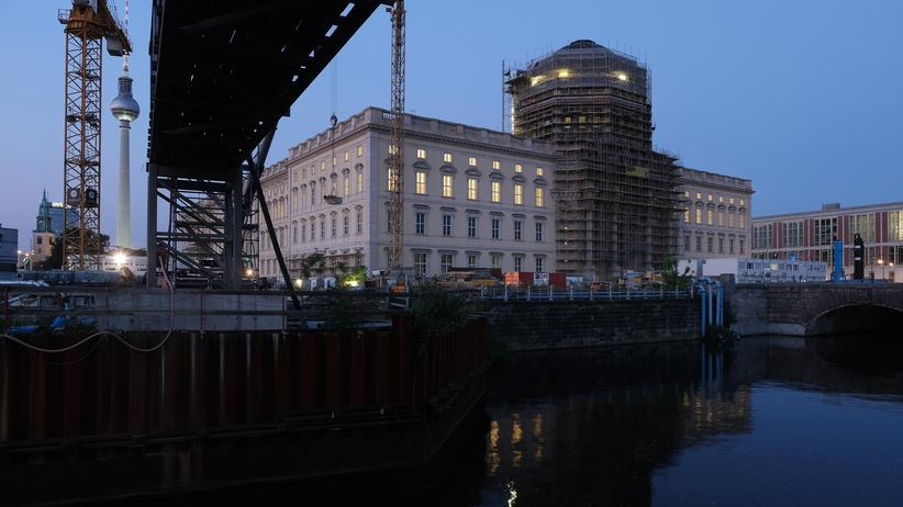 Humboldt-Forum: Das Humboldt Forum ist im Berliner Stadtschloss angesiedelt und soll frühestens 2020 eröffnet werden.