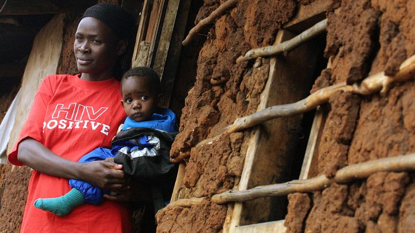 Aids: Mit dem Aids-Erreger geboren