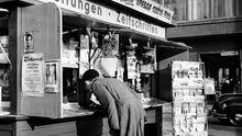 Zeitung Adenauer Geschichte Kiosk Zeitschrift Journalist Journalismus