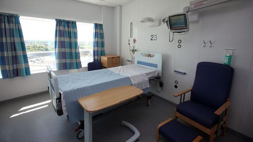 Krankenhaus Hospiz Bett