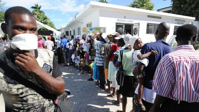 Cholera in Haiti: Die Seuche aus dem Fluss