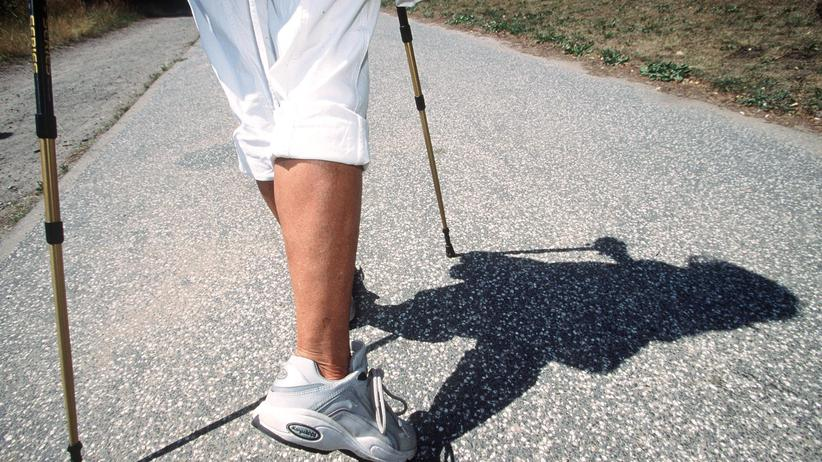 Multiple Sklerose: Schwere Schritte