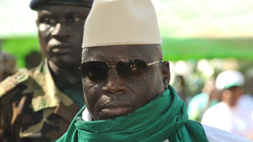 HI-Virus: Gambias Präsident schwört auf eine Paste gegen Aids