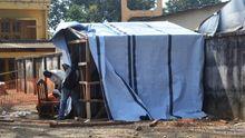 Ebola Afrika Virus Krankenhaus Zelt